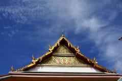 Tempeldach Lizenzfreie Stockfotos