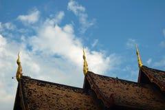 Tempeldach Lizenzfreie Stockfotografie