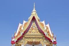 Tempeldach in Thailand Stockfotos