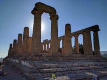 Tempeldal Arkivbild