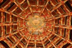 Tempeldecke Stockbild