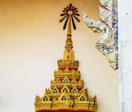 Tempeldecoratie Stock Foto