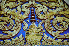 Tempeldecoratie Stock Fotografie