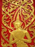 Tempeldeur Royalty-vrije Stock Afbeeldingen