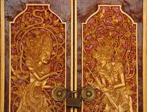 Tempeldeur stock afbeelding