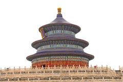 Tempelet av himmel Arkivfoto