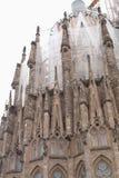 Sagrada Familia. Återställningen. Fotografering för Bildbyråer