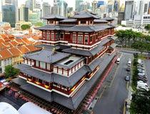 Tempelet för Buddha tandrelik fotografering för bildbyråer