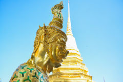 Wat phrakaew av thailand Royaltyfria Foton