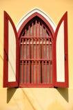Tempelfönster Royaltyfria Bilder