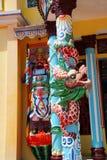 Tempelförmyndare, Cao Dai Temple Royaltyfri Bild