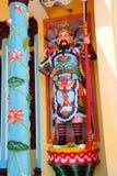 Tempelförmyndare, Cao Dai Temple Royaltyfri Fotografi