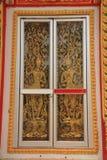 Tempelfenster Stockbild