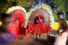 Tempelfestival in Kerala Stockfotografie