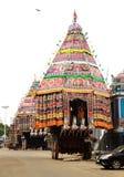 Tempelfestivalrathas arkivfoton
