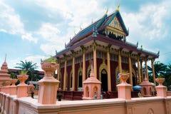 Tempelfristad i Thailand Royaltyfri Fotografi