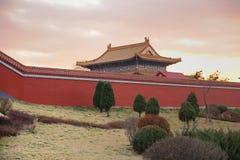 tempelgård Royaltyfri Foto
