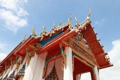 Tempelgavel Fotografering för Bildbyråer