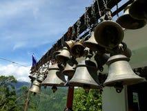 Tempelglocken im Himalaja Lizenzfreies Stockbild