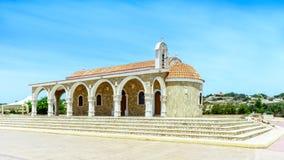 Tempelhelgon Epifanios i Ayia Napa Royaltyfria Bilder