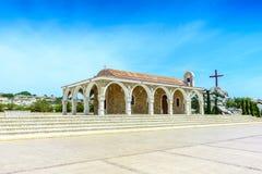 Tempelhelgon Epifanios i Ayia Napa Arkivfoto