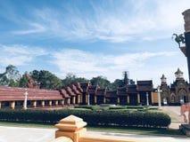 Tempelhoek royalty-vrije stock foto's