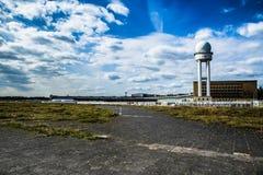 Tempelhof flygfält, Berlin Arkivfoto
