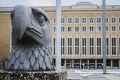 Tempelhof huvudsaklig ingång arkivbild
