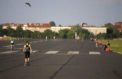 Tempelhofer Feld Βερολίνο Στοκ Φωτογραφία