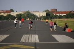 Tempelhofer Feld Берлин Стоковая Фотография