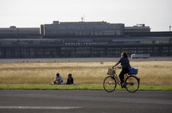 Tempelhofer Feld Berlin Photo libre de droits