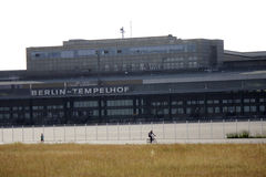 Tempelhofer Feld Berlin Stock Image