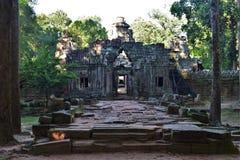 Tempeljordning av Cambodja Royaltyfri Fotografi