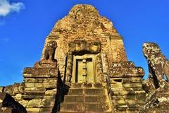 Tempeljordning av Cambodja Royaltyfria Bilder