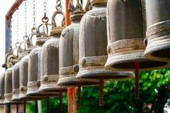 Tempelklokken Thailand Royalty-vrije Stock Foto