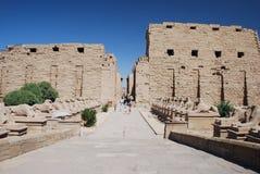Tempelkomplex in Ägypten Lizenzfreie Stockbilder