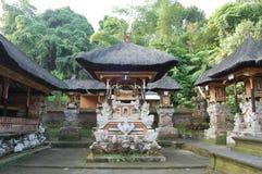 Tempelkomplex i Bali Arkivbilder