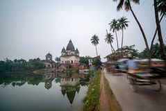 Tempelkomplex Pancharatna Govinda, stockfotos