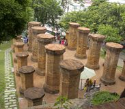 Tempelkomplex PO Nagar lizenzfreie stockfotografie