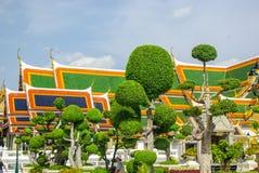 Tempelkomplexe in Thailand Buddhistische Tempel in Bangkok stockfoto
