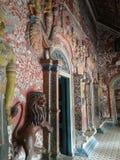 tempelkonst Phuket Thailand Arkivfoto