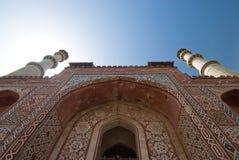 Tempelkontrolltürme Stockbild