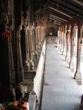 Tempelkorridor Stockfoto
