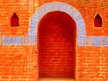 Tempelkunst in India stock foto