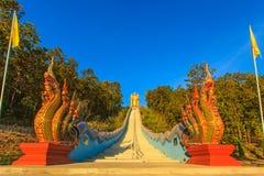 Tempelkyrka i Thailand Royaltyfri Bild