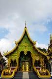 Tempelkyrka i Thailand Royaltyfria Foton