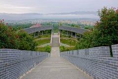 Tempellandschaft Stockfotos