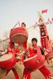 TEMPELMÄSSOR i Kina fotografering för bildbyråer