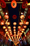 Tempelmesse 2016 Chinesischen Neujahrsfests und Laternenfestival in Chengdu Lizenzfreies Stockbild