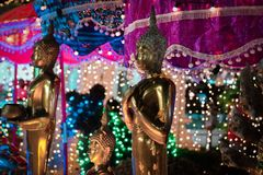 Tempelmesse, Koh Samui Thailand stockfotografie